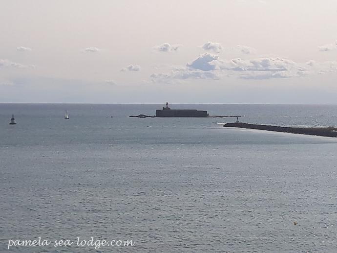 Pointe Du Cap D Agde Fort Brescou
