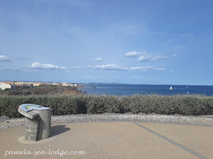 Pointe Du Cap D Agde Orientation Table