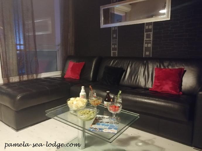 Living Room Of The Pamela Sea Lodge
