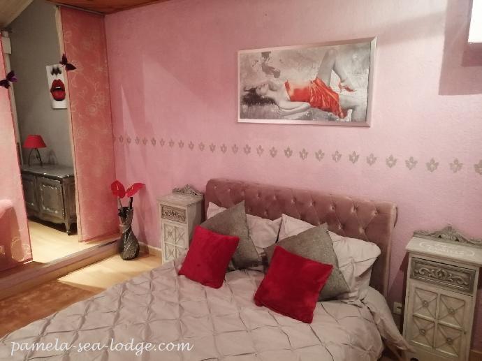 Chambre Glamour Pamela Sea Lodge